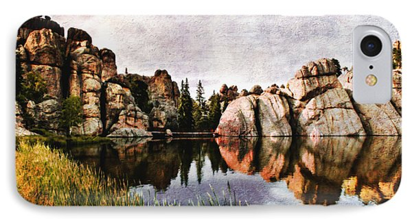 Sylvan Lake - Black Hills IPhone Case by Ellen Heaverlo