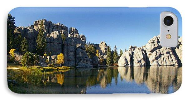 Sylvan Lake, Custer South Dakota IPhone Case