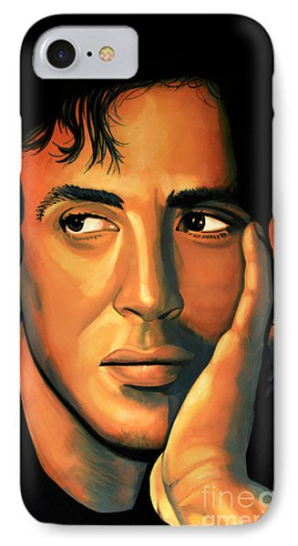 Sylvester Stallone IPhone Case by Paul Meijering