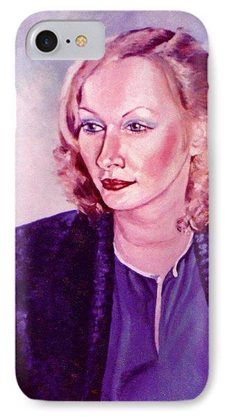 Sylvia Schneider Phone Case by John Keaton