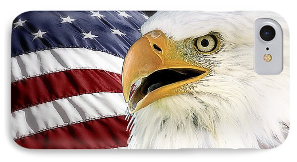 Symbol Of America Phone Case by Teresa Zieba