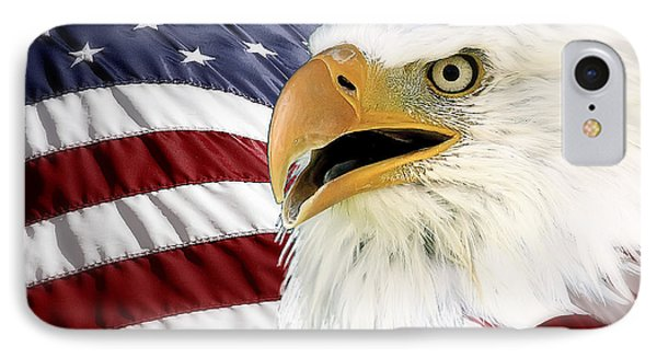 Symbol Of America IPhone Case by Teresa Zieba