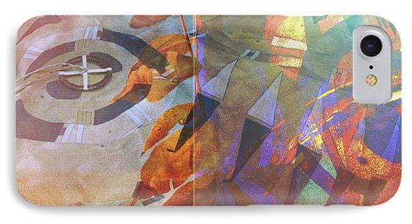 Symbolism No. 5 IPhone Case by Toni Hopper