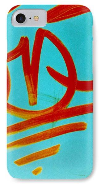 Symbols Phone Case by David Rivas