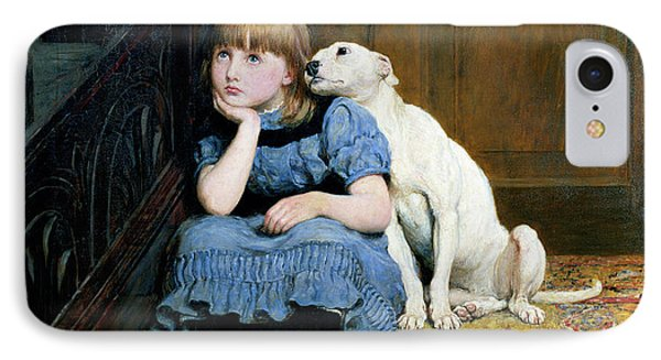 Sympathy Phone Case by Briton Riviere