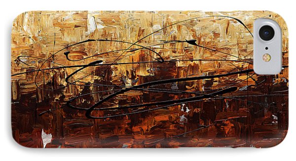 IPhone Case featuring the painting Symphony by Carmen Guedez