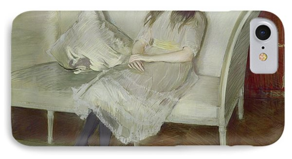 Symphony In White Phone Case by Paul Cesar Helleu