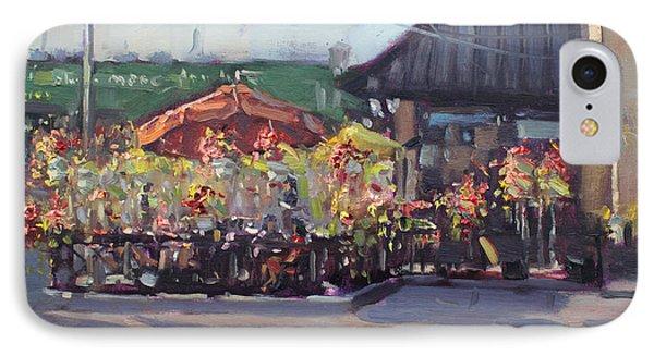 Symposium Cafe Restaurant - Georgetown IPhone Case by Ylli Haruni