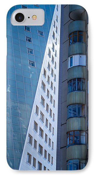 Synergy Between Old And New Apartments IPhone Case by John Williams