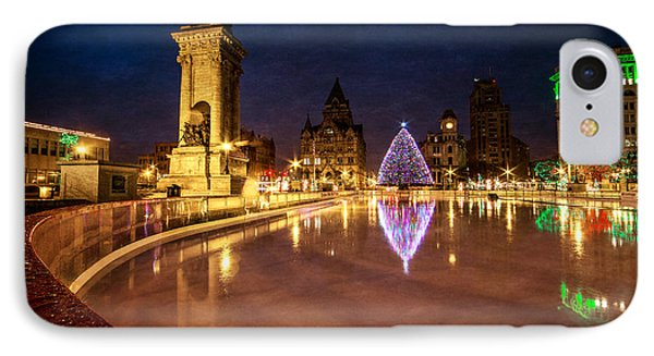 Syracuse Christmas IPhone Case