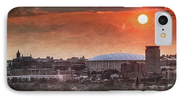 Syracuse Sunrise Over The Dome IPhone 7 Case by Everet Regal