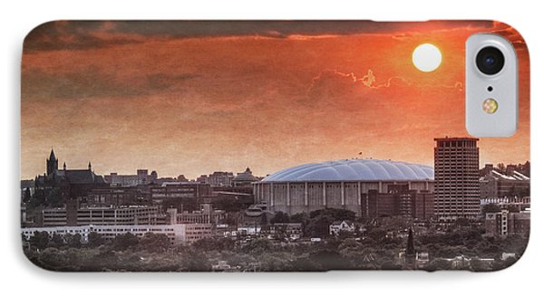 Syracuse Sunrise Over The Dome IPhone Case by Everet Regal
