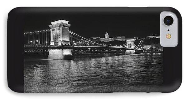 Szechenyi Chain Bridge Budapest IPhone Case