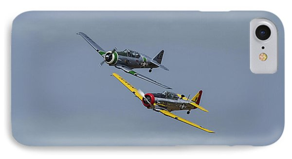 IPhone Case featuring the photograph T-6 Trainers by Elvira Butler