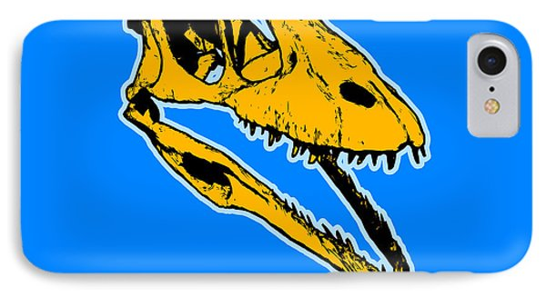 T-rex Graphic IPhone Case by Pixel  Chimp