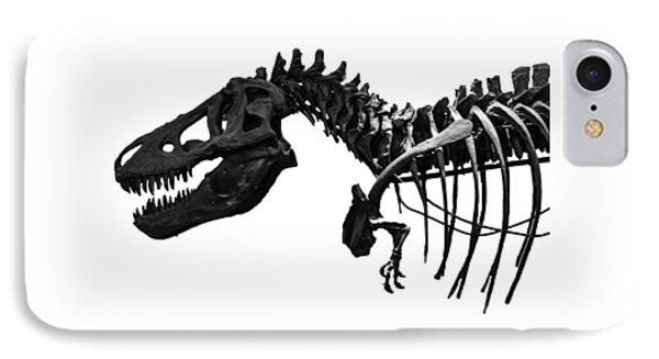 T-rex IPhone Case by Martin Newman
