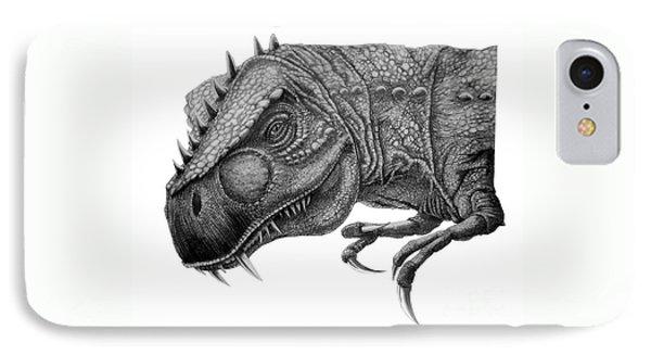T-rex Phone Case by Murphy Elliott