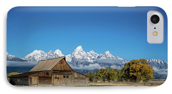 T.a. Moulton Barn IPhone Case by Mary Hone