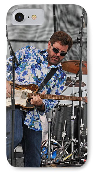 Tab Benoit Plays His 1972 Fender Telecaster Thinline Guitar IPhone Case