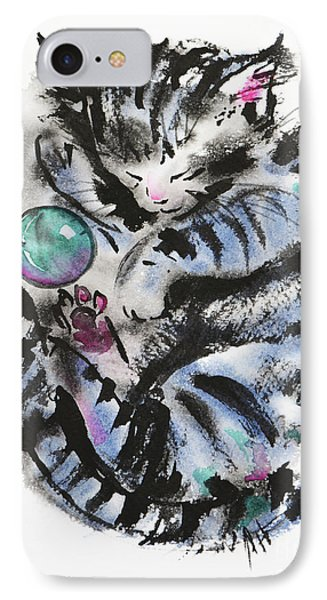 Tabby Dreams IPhone Case