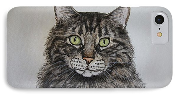 Tabby-lil' Bit IPhone Case