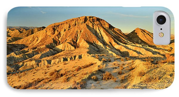 Tabernas Desert Almeria Spain IPhone Case by Marek Stepan