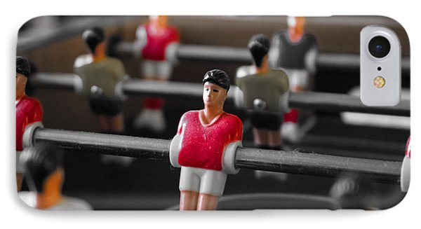 Table Football IPhone Case by Martin Newman