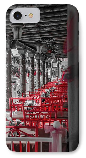 Table For Four IPhone Case by Mark Dunton