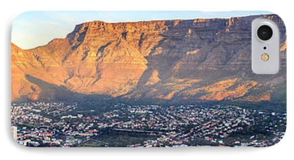 IPhone Case featuring the photograph Table Mountain by Alexey Stiop