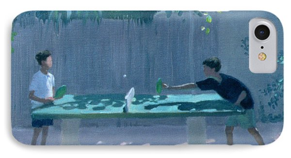Table Tennis Phone Case by Andrew Macara