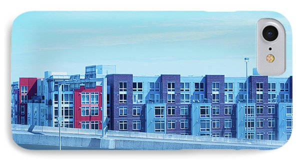 IPhone Case featuring the photograph Tacoma Blues - Cityscape Art Print by Jane Eleanor Nicholas
