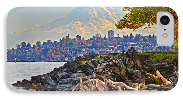 IPhone Case featuring the photograph Tacoma In The Fall by Jack Moskovita