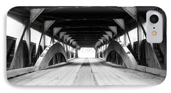 Taftsville Covered Bridge Phone Case by Greg Fortier