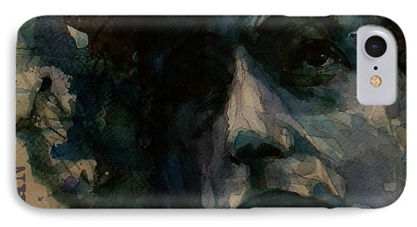 Tagged Up In Blue- Bob Dylan  IPhone 7 Case