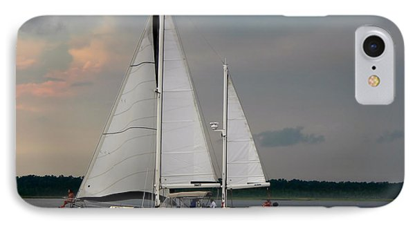 Tahiti Under Sail IPhone Case
