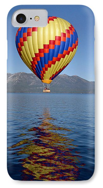 IPhone Case featuring the photograph Tahoe Balloon. by Mitch Shindelbower