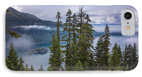 Emerald Bay With Steamboat IPhone Case