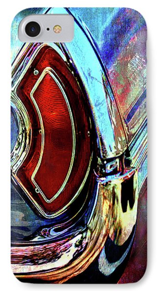 IPhone Case featuring the digital art Tail Fender by Greg Sharpe