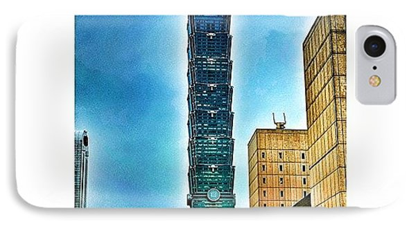Taipei 101 (chinese: 台北101 / IPhone Case by Tommy Tjahjono