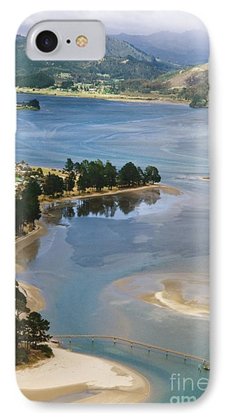 Tairua Harbour Phone Case by Himani - Printscapes