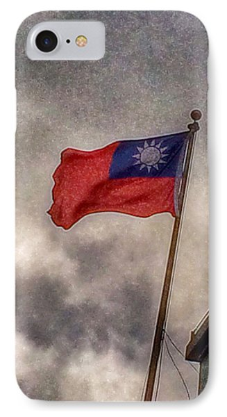 Taiwan Flag IPhone Case