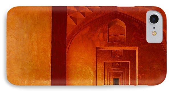 Taj Mahal IPhone Case by M G Whittingham