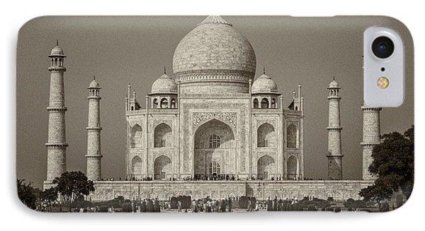 Taj Mahal IPhone Case by Hitendra SINKAR