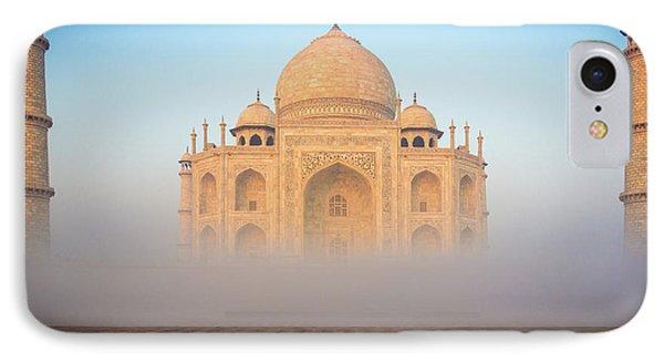 Taj Mahal In The Mist Phone Case by Inge Johnsson