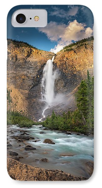 IPhone Case featuring the photograph Takakkaw Falls Of Yoho National Park by William Lee