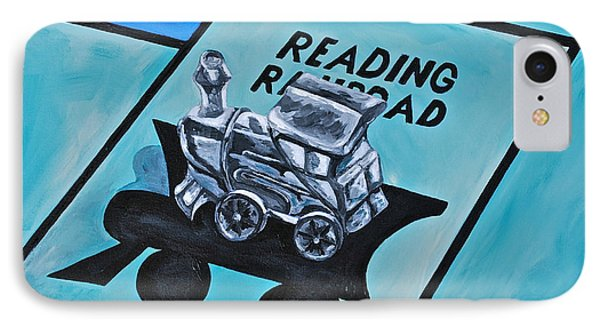 Take A Ride On The Reading  Phone Case by Herschel Fall