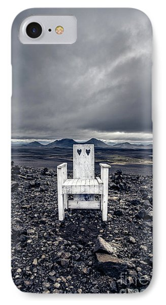 IPhone Case featuring the photograph Take A Seat Iceland by Edward Fielding