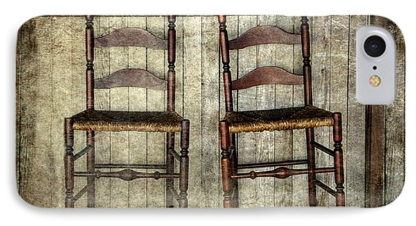 Take A Seat IPhone Case by Stephanie Calhoun