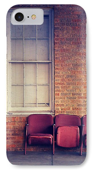 IPhone Case featuring the photograph Take A Seat by Trish Mistric