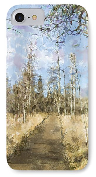 IPhone Case featuring the painting Take A Walk by Annette Berglund